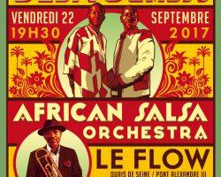 African salsa orchestra en live au flow