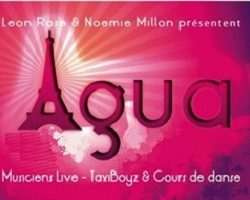 Mardi  ✨  Cours & Soirée Bachata ✨ Agua Paris !