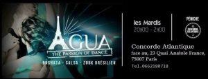 soiree salsa latino cours latino mardi jeudi vendredi samedi apprendre danser meilleurs bars agua 1